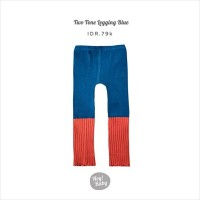 Hey Baby Two Tone Legging (Blue)