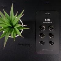 TRN Noise Isolating Memory Foam Eartips ZSN Earfoam Earphone Headset