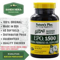 Nature's Plus Ultra Evening Primrose Oil EPO 1500 60 Softgel
