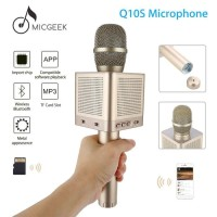 MicGeek Q10S Bluetooth Karaoke Microphone Speaker