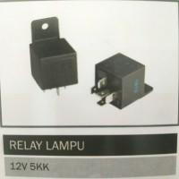 Relay Lampu 12V 5 Kaki Merek Hella Merk Jerman