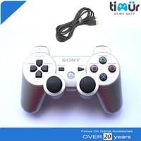 Stick Stik PS3 Wireless Ori Original Pabrik Silver Plus Charger
