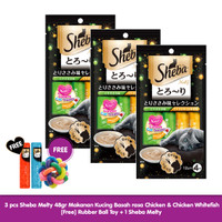 [Hot Promo] Sheba Melty 48gr Makanan Kucing rasa Chicken Whitefish