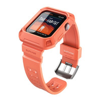 Case and Wristband Apple Watch 4 44mm Supcase UB Pro Original - Peach