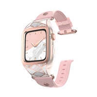 Case and Wristband Apple Watch 4 44mm Supcase Cosmo Original - Marble