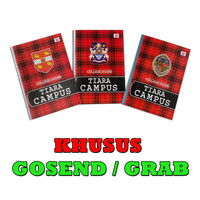 Buku Tulis TIARA Campus B5 50 lembar KHUSUS GOSEND/GRAB