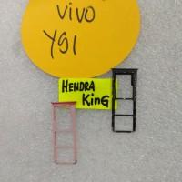 Simtray Vivo Y91 / Sim holder Vivo Y91 / slot sim vivo Y91