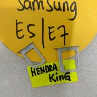 simtray Samsung E7 E700 / slot sim Samsung E7 / Simlock Samsung E7