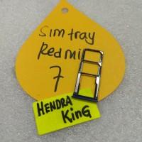 simtray Redmi 7 / Tempat kartu Redmi 7 / Slot sim Redmi 7