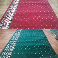 Sajadah Roll / Karpet Masjid / Karpet Mushola Motif Bintik