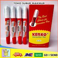 TIPE TIP X KENKO CORECTION PEN TAPE CAIR PENGHAPUS TERMURAH ALAT TULIS