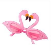 Beach Hawaii Flamingo Party Tropical Decorations Pineapple Sunglasses