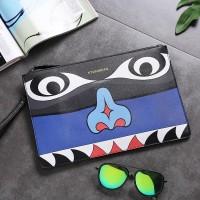 3D Printing Bags Eye Luxury Envelope Clutch Handbag Shoulder Bag