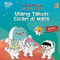 BOARD BOOK MURAH SERI FANTASI LUAR ANGKASA: ULANG TAHUN CICAN DI MARS