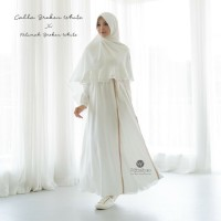 URFIMUTIYARO CALLA DRESS BROKEN WHITE XXL GAMIS ONLY TANPA KHIMAR