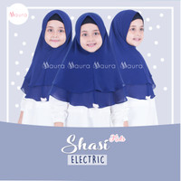 Khimar Anak Shasi Kids ELECTRIC by Maura Hijab Ceruti Babydoll