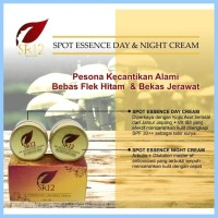 Spot Essence Day & Night Cream SR12 / krim flek pagi dan malam