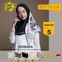 Jilbab Segiempat Vionara Motif 5 By Azzura Scarf- Kerudung Hijab Murah