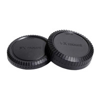Body Cap & Lens Rear Cap Cover Mirrorless Fujifilm FX