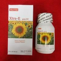 Harga maxvita xtra e 400 iu isi 60 sft capsul suplemen vitamin | antitipu.com