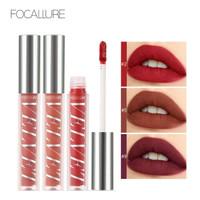 FOCALLURE Velvet Liquid Lipstick Makeup Lip Gloss FA76 - Copper Rose X thumbnail