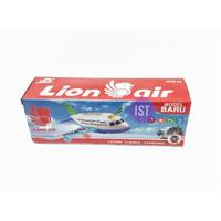 Mainan Anak Pesawat Lion Air Baterai Kecil A380-300LI