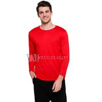 VM Kaos Polos Panjang Merah - PJG-MERAH