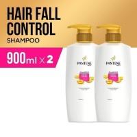 Shampoo Sampo Pantene HairFall Control 900ml - paket isi 2