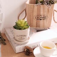 Pot Vase Vas Bunga Artificial Hiasan Rumah Tiruan Dekorasi Meja Cafe