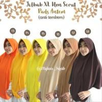 Terbaru Jilbab Instan Xl Tanpa Serut Bahan Kaos Pe Pet Antem Anti