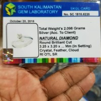 HOT SALE Diamond Ring Cincin Berlian Asli Kalimantan Tunangan Nikah
