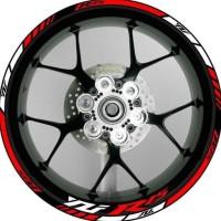 HOT SALE Stiker Velg Motor Yamaha YZF R15 Ukuran Rim/Velg 17