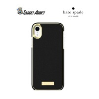 Kate Spade Wrap Case for iPhone X - Saffiano Black