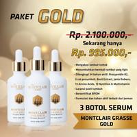 Obat Penumbuh Rambut dari Kebotakan MONTCLAIR ORIGINAL Paket GOLD