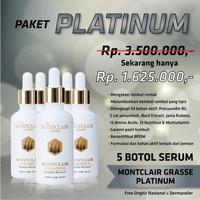 Obat Penumbuh Rambut dari Kebotakan Rontok Monclair Paket Platinum