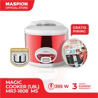 Maspion Magic Cooker MRJ-1808 Stainless Steel - Merah