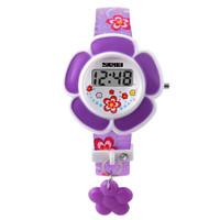 jam tangan digital anak perempuan anti air Ungu Cantik Modern MURAH