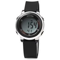 Jam tangan digital anak anti air desain kece modern warna hitam MURAH