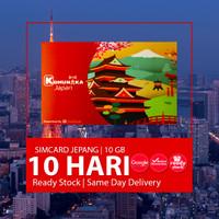 SIMCARD JEPANG SOFTBANK 10 HARI 10GB | Japan Sim card Kartu Data