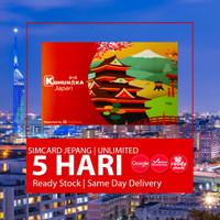 SIMCARD JEPANG 5 HARI UNLIMITED | Japan Sim Card Kartu Data