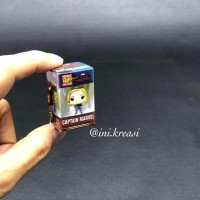 Magnet kulkas miniatur Funko