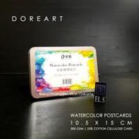 Doreart WaterColour Postcard (Cat Air)
