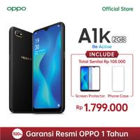 OPPO A1K Smartphone 2GB/32GB - Black (Garansi Resmi)