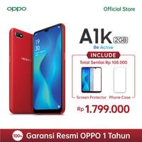 OPPO A1K Smartphone 2GB/32GB - Red (Garansi Resmi)