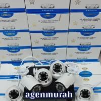 Paket CCTV 6CH 5MP FULL HD KOMPLIT Hardisk 2000GB