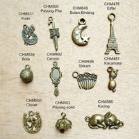 Cute Charm / Bandul Imut / Pendant / Aksesoris Kalung Gelang Anting