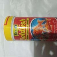 makanan ikan tetra goldfish flakes 52 gr
