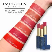 IMPLORA INTENSE MATTE LIPSTICK/LONG LASTING FINISH