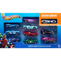 Hotwheel Alloy Avenger Car 10 pc