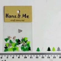 Nail Art Payet Manik Kuku Pohon